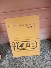 Ägyptisches Museum Berlin, Kurzführer, aus dem Jahr 1969