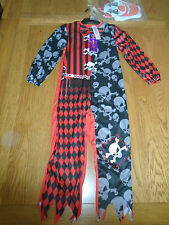BNWT scary clown halloween fancy dress up. 5-6 yrs.Tesco