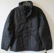 Nautica Mens Black Quilted Down Bomber Winter Jacket NWT $198 XXL 2XL