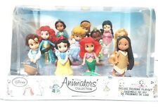 DISNEY STORE ANIMATORS COLLECTION DELUXE FIGURE PLAY SET ARIEL BELLE SNOW WHITE
