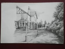 POSTCARD CUMBRIA ULVERSTON - FURNESS FELLS GUEST HOUSE - PENCIL SKETCH
