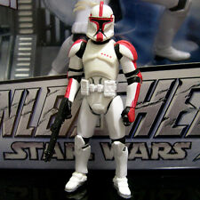 STAR WARS saga legends CLONE TROOPER CAPTAIN aotc EP2 red