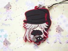 Black Butler Cosplay Under Taker PVC Figure Cell Phone Strap Charm