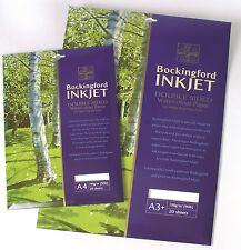 Bockingford INKJET Acquerello Stampante Digitale su carta-A3 - 20 fogli Pack