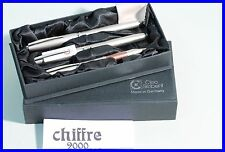 CLEO SKRIBENT Chiffre 2000 -  matt design - fountain pen & roller ball , pencil
