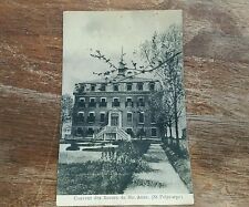 Vintage post card convent of the sister St polycarpe Québec canada rare