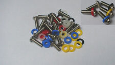 STAINLESS BMW R1150RT BOXER FAIRING PANEL BOLT SCREW KIT AND WASHERS - EBOLT