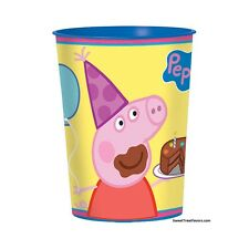 PEPPA PIG Party FAVOR Birthday Cups Stadium Decoration Plastic Supplies Piggy NW
