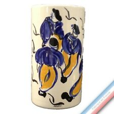 Collection BLEU SALE - Vase cylindre 'Petit' - H 18,5 cm -  Lot de 1