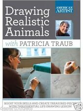 NEW! Drawing Realistic Animals With Patrica Traub [DVD]