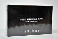 NIB Factory Sealed | Bobbi Brown Mini Brush Set of Four With Silver Case