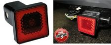 "Bully CR-007A Tail & Brake Light 2"" Hitch Receiver Cover Plug New Free Shipping"