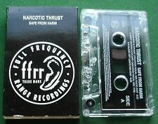 Narcotic Thrust Safe from Harm Cassette Tape Single - TESTED