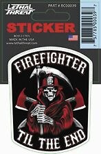 Lethal Threat - RC00039 - Reaper Firefighter Decal~