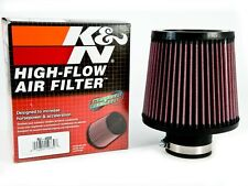 K&N 2.5'' Inlet Universal Air Intake Cone Filter 64mm RU-4950 Car Truck NEW 615