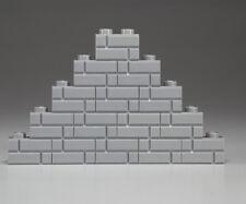 15x LEGO® City Basic Mauersteine 1x2 hell grau Noppen Ziegel, Klinker NEU