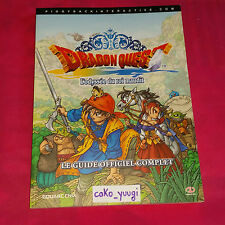 GUIDE OFFICIEL DRAGON QUEST L'ODYSSEE DU ROI MAUDIT VERSION 100% FRANCAISE