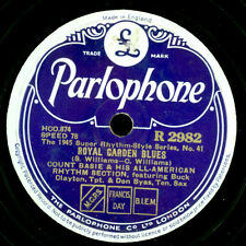 COUNT BASIE & HIS ALL-AMERICAN Royal Garden Blues/Jitters  Schellack 78rpm X3322