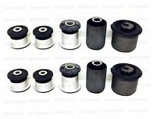 VW Touareg Lower + Upper Control Arm Bushing Kit Left+Right (Set of 10 Bushings)