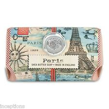 Michel Design Works Large 8.7 oz Artisanal Bar Bath Soap Paris - NEW