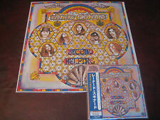 LYNYRD SKYNYRD SECOND HELPING LP 180G MCA U.K. PRESSED+JAPAN REPLICA CD COMBO