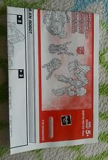 Transformers ARMADA HOIST INSTRUCTION BOOKLET ONLY AUTHENTIC