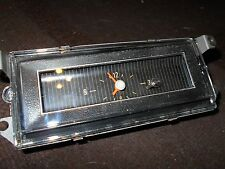 1969 1970 FORD MUSTANG STANDARD INTERIOR DASH CLOCK LENS NEW CORRECT HARD TO FIN