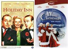 Holiday Inn & White Christmas - DVDs - Bing Crosby Danny Kaye Fred Astaire (NEW)