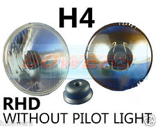 "5.75"" 5 3/4"" CLASSIC CAR HEADLAMP HEADLIGHT HALOGEN H4 WITHOUT PILOT/SIDE LIGHT"