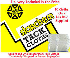 "Starchem Tack Cloths 18"" Clean Sticky Tak Rags Takrags Body Shop Panel Wipe x 10"