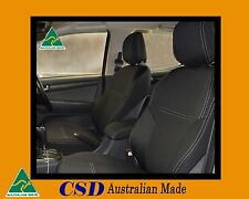 Seat Cover Isuzu MU-X Heavy Duty Neoprene Premium FRONT waterproof