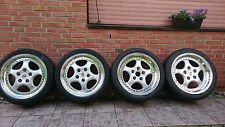 PORSCHE 911/964 965 RS TURBO ORIGINAL 18 ZOLL SPEEDLINE FELGEN+BEREIFUNG SELTEN