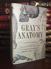 Gray's Anatomy Classic Illustrated Edition by Henry Gray New Hardcover Edition