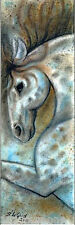 LARGE LTD EDITION HORSE EQUESTRIAN PRINT FROM ORIGINAL PAINTING SUZANNE LE GOOD