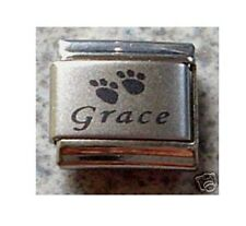 Italian Charms Name CUSTOM MADE Any Pet Name Cat Dog