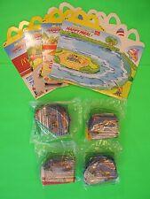1996 McDonalds - Speedsters set of 4 *MIP* with 4 Boxes *Intl* *UK*