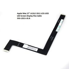 "Apple iMac 27"" A1312 2011 LCD LVDS LED Screen Display Flex Cable 593-1352 A  B"