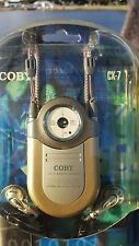 COBY Mini AM FM Pocket Radio Model CX7 GOLD DBBS New in Package