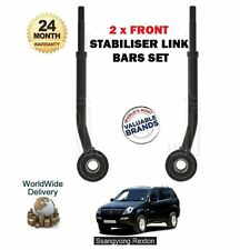 FOR SSANGYONG REXTON RX270 RX290 RX320 2003- NEW 2 X FRONT STABILISER LINK BARS