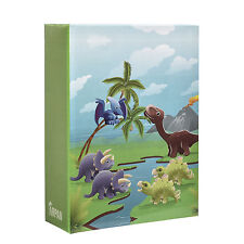 Arpan 6x4 Slip In Small Children Photo Album For100 Photos Kids Dinosaurs AL9138
