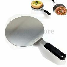 Stainless Steel Pizza Peel Shovel Cake Tray Safety Spatula Shifter Kitchen Tools