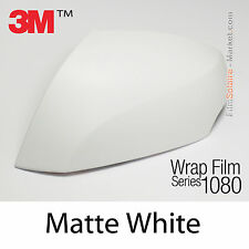 20x30cm FILM Matte White 3M 1080 M10 Vinyle COVERING New Series Car Wrapping