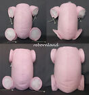 "REBORN BODY - DOE SUEDE - IN MULTIPLE VARIATIONS - BABY PINK COLOUR - 10"" to 22"""