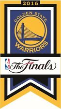 GOLDEN STATE WARRIORS NBA FINALS CHAMPIONSHIP PIN NBA BANNER CHAMP STYLE CURRY