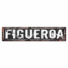 SLND0398 FIGUEROA CAVE Street Chic Sign Home man cave Decor Gift