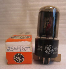 GE General Electric 25W4GT Electronic Electron Vacuum Tube In Box NOS