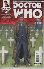 Doctor Who #9 New Adventures with 10th Doctor comic book TV show Weeping Angels