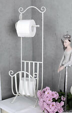 WC Rollenhalter Toilettenpapierständer Shabby Chic Klopapierhalter Antik