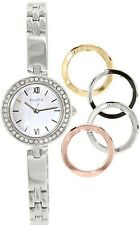 Bulova Women's 98X107 Silver Stainless-Steel Quartz Watch