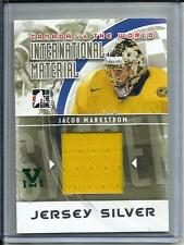 Jacob Markstrom 10/11 ITG Canada vs the World Game Used Jersey #1/1